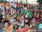 Veja as FOTOS do prefeito Leleco entregando ovos da páscoa aos alunos em BONITO
