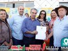 Vejas as FOTOS da assinatura a retomada da obra MS-345 distrito Águas de Miranda em BONITO
