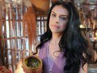 A TERRA PROMETIDA: Samara mata futuro marido com escorpiões