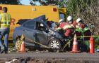 Identificada mulher que morreu em colisão frontal com carreta na BR-163