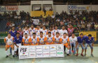 Equipe de futsal de Bonito classifica-se em 1º lugar no Grupo L