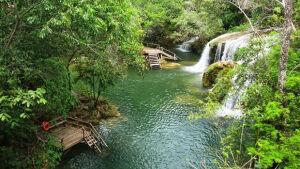 BONITO (MS): Estância Mimosa Ecoturismo, descanso em uma das 12 melhores cachoeiras do Brasil