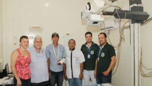 Raios 'X' recebe peças novas e já está funcionando no Hospital Darci João Bigaton em BONITO