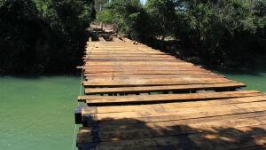 Reforma da Ponte do Hormínio já está cerca de 80% concluída em Bonito