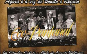 Grupo Eco do Pantanal realiza grande baile no próximo sábado em Bonito