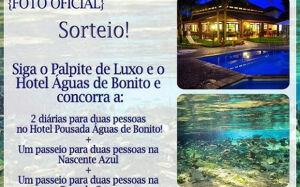 Hotel Pousada Águas de Bonito lança promoção e dará pacote completo para Bonito (MS)