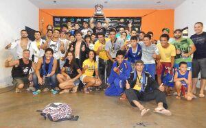 Bonito supera grandes equipes e é campeã estadual de Jiu-Jitsu