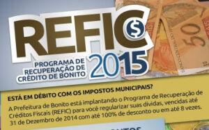Prefeitura cria programa para pagar dívidas de impostos com até 100% de desconto em BONITO