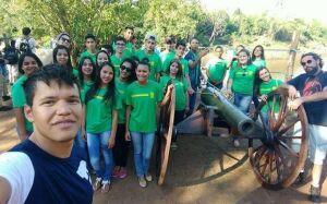 Os 150 anos da Retirada da Laguna são vivenciados por alunos de escola estadual de BONITO