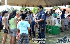 Guarda Municipal de Bonito realiza festa beneficente para as crianças do Jardim Bom Viver e região