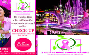 Clínica Terra oferece um Check-Up para as mulheres neste mês de outubro em Bonito (MS)