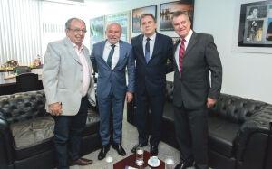 Em visita à Brasília, prefeito Odilson busca recursos para Bonito