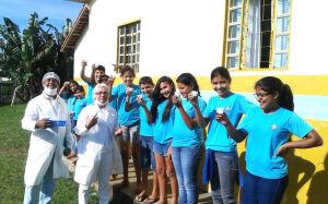 Saúde efetua aplicação de flúor e tratamento dentário no Assentamento Guaicurús, em Bonito