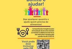 EM BONITO: você pode contribuir para amenizar as consequências da pandemia do COVID-19!