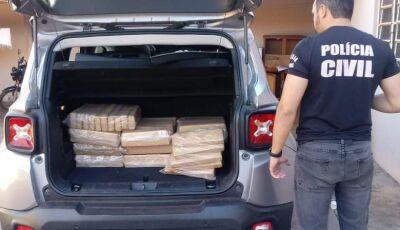 VÍDEO: bonitenses são presos por tráfico de drogas em Goiás