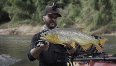 Em Bonito, Canal Fish TV grava e mostra o aumento da espécie Dourado a partir da proibição da pesca