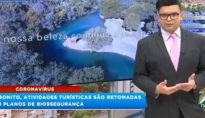 SAIU NO BALANÇO GERAL: Atividades turísticas são retomadas com planos de biossegurança em Bonito MS