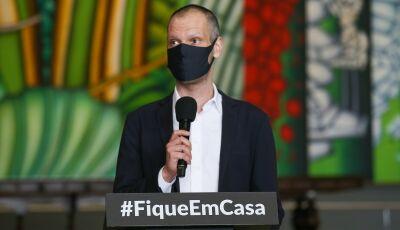 Com câncer, prefeito de São Paulo Bruno Covas pega coronavírus