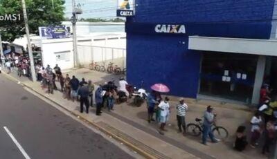 Caixa abre 10 agências neste sábado para saque de benefício de R$ 600, CONFIRA