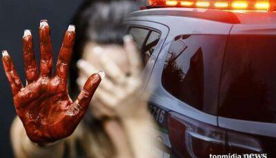 FEMINICÍDIO: Mulher é esfaqueada e tem pulmão perfurado pelo marido