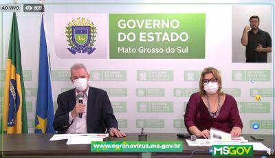 """""""População de MS está fazendo opção pelo caminho da morte"""", alerta secretário Geraldo sobre Covid-19"""