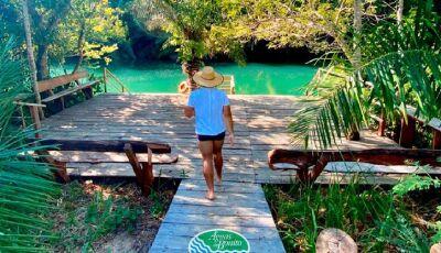 Sejam bem-vindos ao Bosque das Águas!, com 6 decks em diferentes pontos em Bonito (MS)