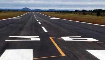 Aeroporto ganhará sistema que dá mais segurança ao pouso de aeronaves em Bonito (MS)