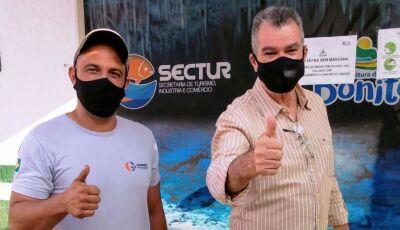 Motoristas do turismo também recebem imunização contra gripe em Bonito (MS)