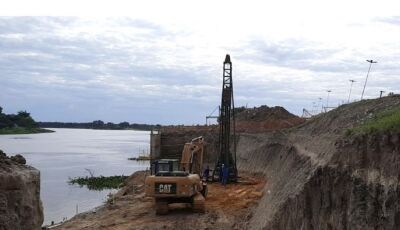 Com recuperação do dique, Estado protege Porto Murtinho contra as grandes enchentes