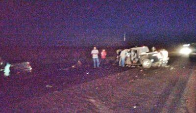 TRAGÉDIA: acidente em MS deixa 9 feridos; 3 crianças estão entre as vítimas