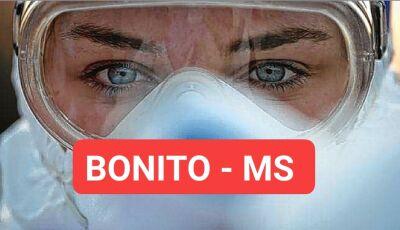 DISPAROU: em 3 dias, Bonito confirma mais 22 novos casos de covid-19; 9 nas últimas 24h