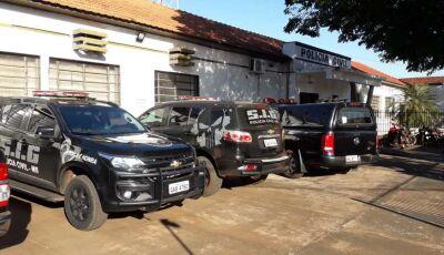 Polícia cumpre mandados de busca e apreensão em Rio Brilhante e mira casa de ex-prefeito