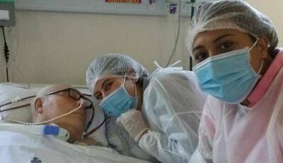 Médico com covid está há mais de 115 dias na UTI