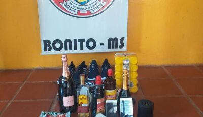 Guarda Municipal apreende 3 menores autores de furto a farmácia no centro em Bonito (MS)