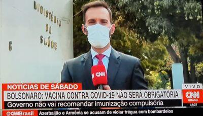 Bolsonaro: Vacina contra a covid-19 não será obrigatória