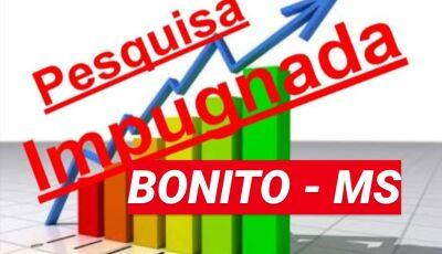 Pesquisa eleitoral é impugnada e será objeto de investigação eleitoral em Bonito (MS)