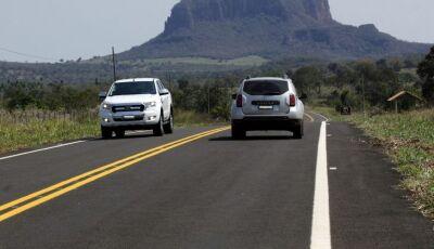 Em Aquidauana, asfaltamento da Estrada Ecológica pelo Estado valoriza região e alavanca o turismo
