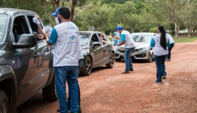 Turistas e empresários aprovam mutirão do Sesi e Sebrae de prevenção à Covid-19 em Bonito (MS)