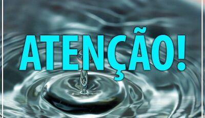Confira os bairros que poderá faltar água com previsão de voltar até às 19h em Bonito (MS)