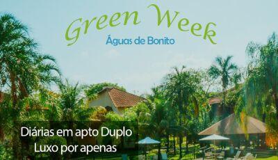 VEM PRA BONITO?: Green Week, do Águas de Bonito tem a melhor tarifa do ano, confira agora