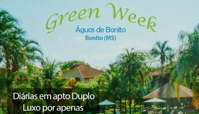 'Green Week' do Águas de Bonito começou e tem a melhor tarifa do ano em Bonito (MS)