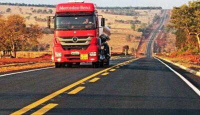 Estado investe R$ 520 milhões na pavimentação de 374 km de rodovias e projeta mais R$ 2,5 bilhões