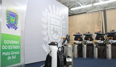 Reinaldo entrega 420 equipamentos de combate ao mosquito Aedes aegypti e destaca sintonia no combate