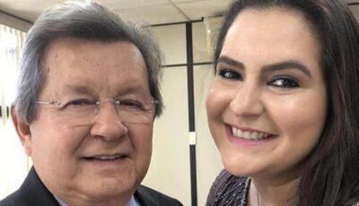 OFICIAL: Rhaiza Matos, filha de Onevan é a candidata a prefeita em Naviraí