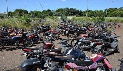 Operação Pátio Zero: mais de 400 motocicletas estão disponíveis em leilão de sucata aproveitável