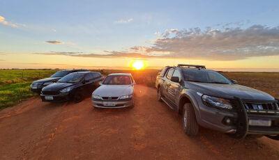 Veículo com mais de 700 quilos de maconha foi apreendido em estrada rural de Maracaju