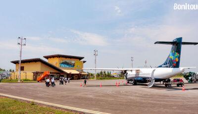 Infraero firma contrato para prestação de serviços na pista do Aeroporto de Bonito (MS)
