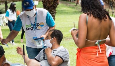 Sistema S reforça orientações de biossegurança em atrativos turísticos no feriado em Bonito (MS)