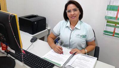 Com 13º integral pela primeira vez, professora da REE agradece pela valorização dos convocados em MS
