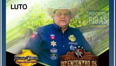 LUTO NO RODEIO: Júlio Cesar 'O turbilhão das arenas', morre aos 42 anos